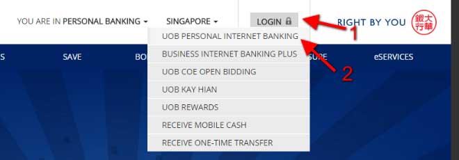 UOB Internet Banking Login