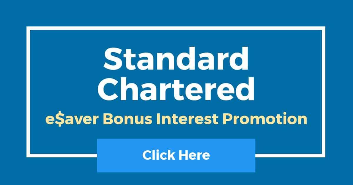 Standard Chartered eSaver Bonus Interest Promotion