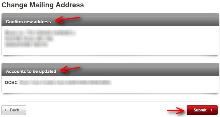 How To Change OCBC Mailing Address 6
