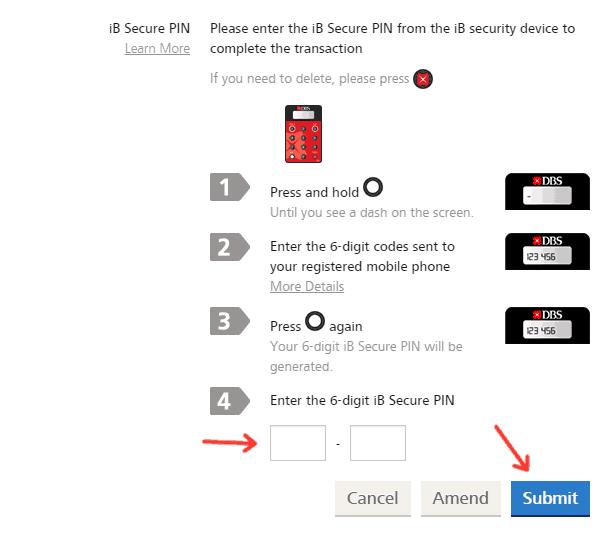 Input iB Secure PIN