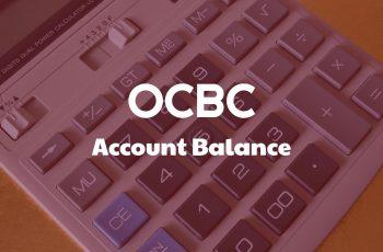 OCBC ACCOUNT BALANCE