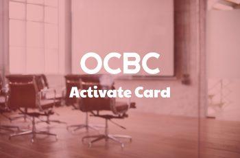 Activate OCBC Card