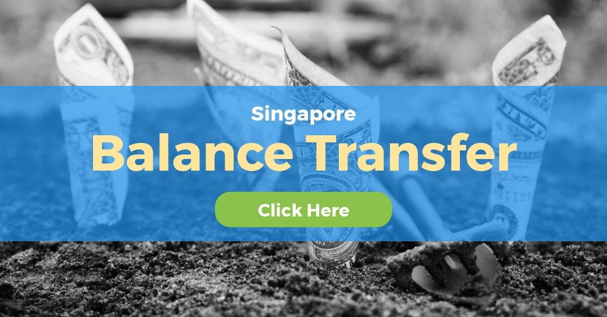 Best Balance Transfer Singapore