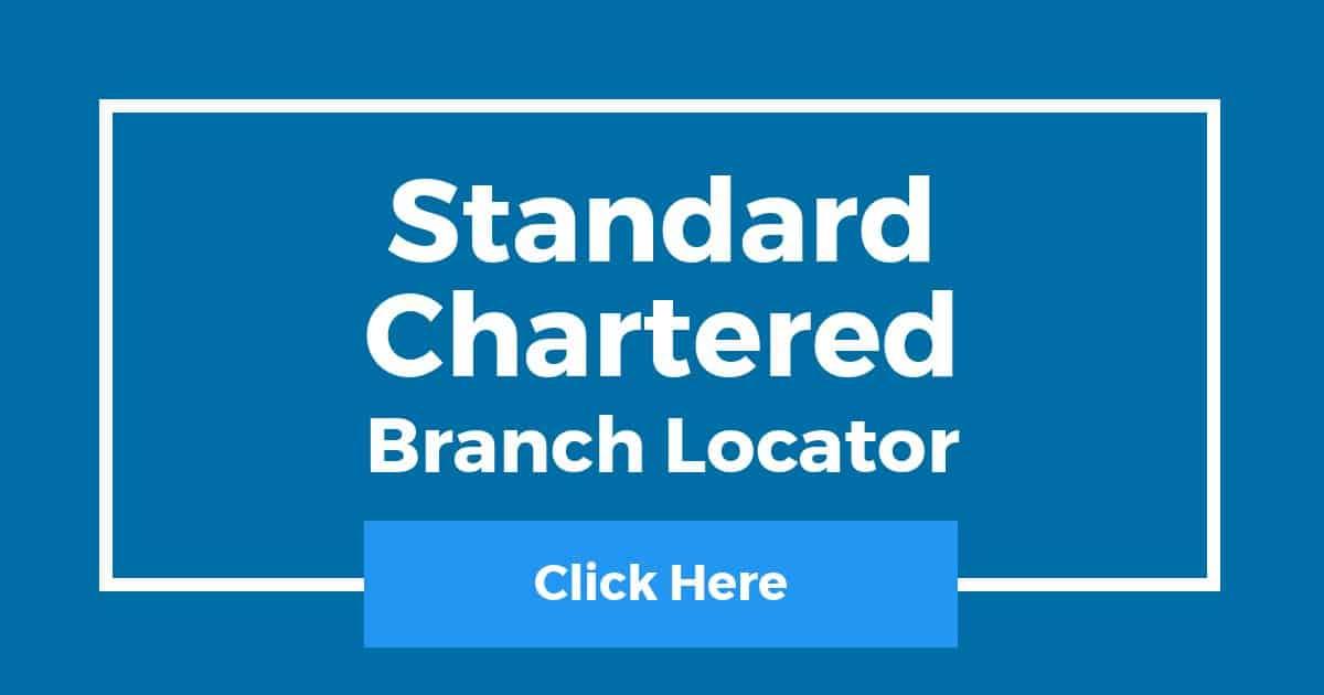 Standard Chartered Branch Locator