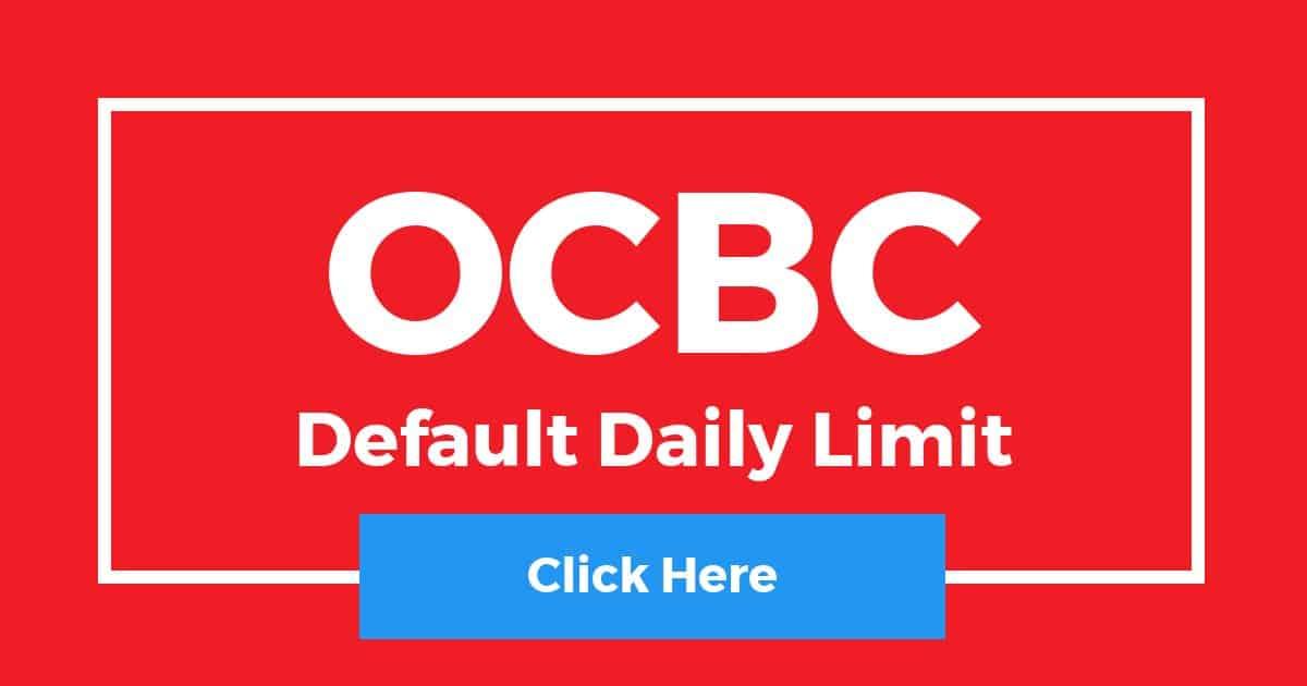 OCBC Default Daily Limit